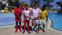 Captains picture From left to right Senegal, Tunisia, Morocco and Ivory Coast.jpg