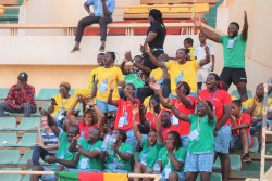 Cameroonian supporters cheering on .JPG