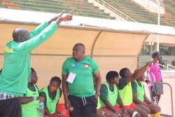 Cameroonian women's team coach –  Jacques NGomsu Tchon Lahui.JPG