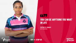 Rugby Africa's Botswanan Unstoppable, Fatma.png