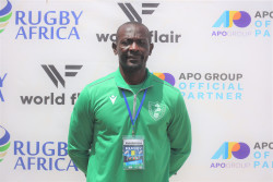 Cameroonian women's team coach –  Jacques NGomsu Tchon Lahui 1.JPG