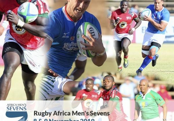 Les équipes de l'Africa Men's Sevens de rugby ont les yeux rivés sur les Jeux Olympiques de Tokyo 2020