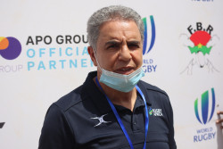 President of Rugby Africa – Khaled Babbou .JPG