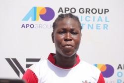 Cameroonian's captain – Gertrude Prombove.JPG
