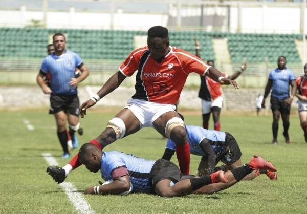 Le Ghana remporte le match qui l'opposait au Botswana 36 à 25 lors du match d'ouverture de la Rugby Africa Cup 2020
