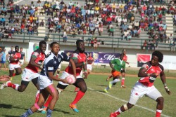 Rugby Eight under-20 African national teams compete in the Barthés U20 Trophy for a place in the 201